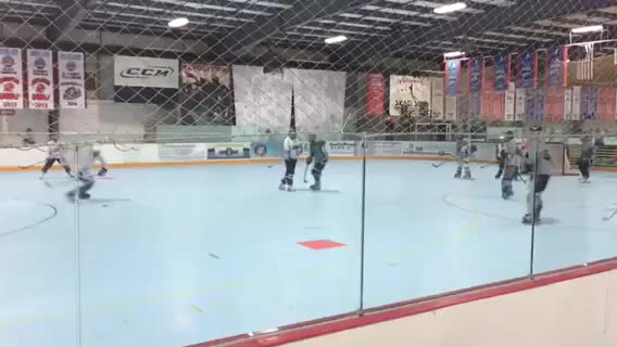 Watch [Inline] Force turn over to receive pass for one timer goal (reddit) GIF on Gfycat. Discover more hockeyplayers GIFs on Gfycat