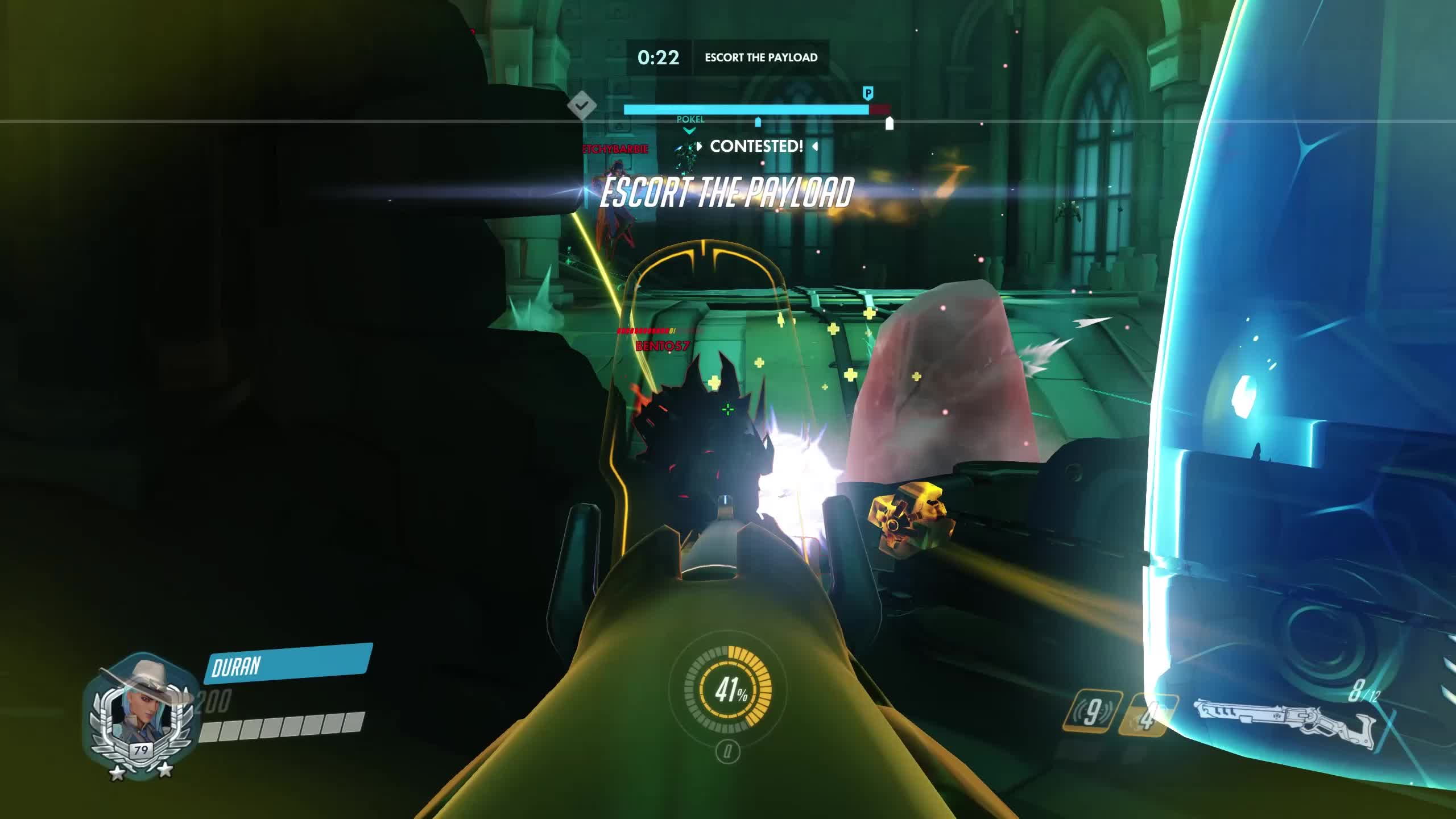 bastion, highlight, overwatch, ashe 3k GIFs