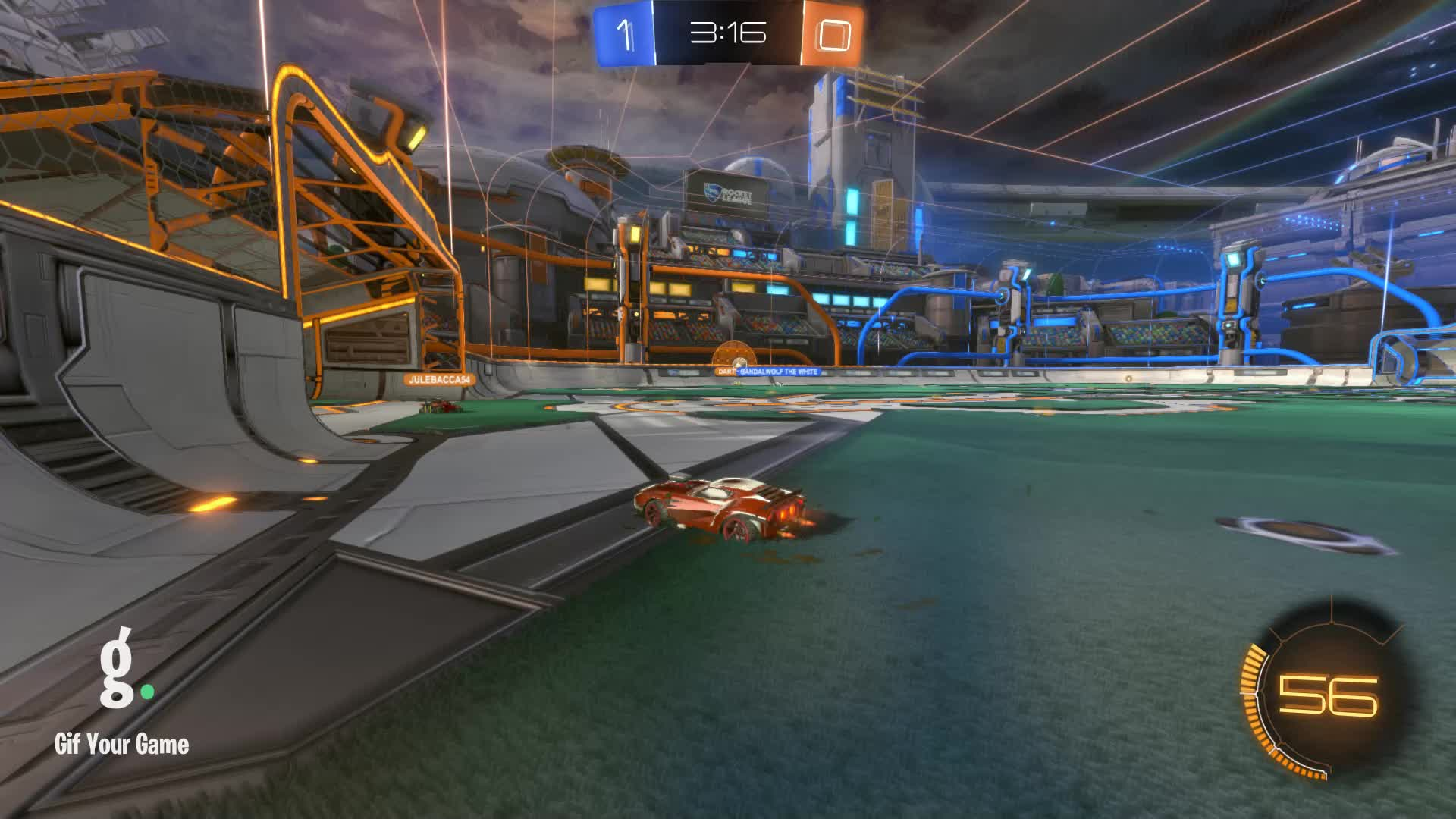 Duck Dodgers, Gif Your Game, GifYourGame, Goal, Rocket League, RocketLeague, Goal 2: Duck Dodgers GIFs