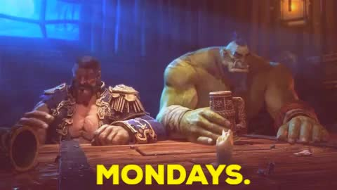 Watch this monday GIF by Jordan Frost (@frost42) on Gfycat. Discover more Bottoms Up, Gif, MoP, Mondays, Reaction, WoW, World of Warcraft GIFs on Gfycat