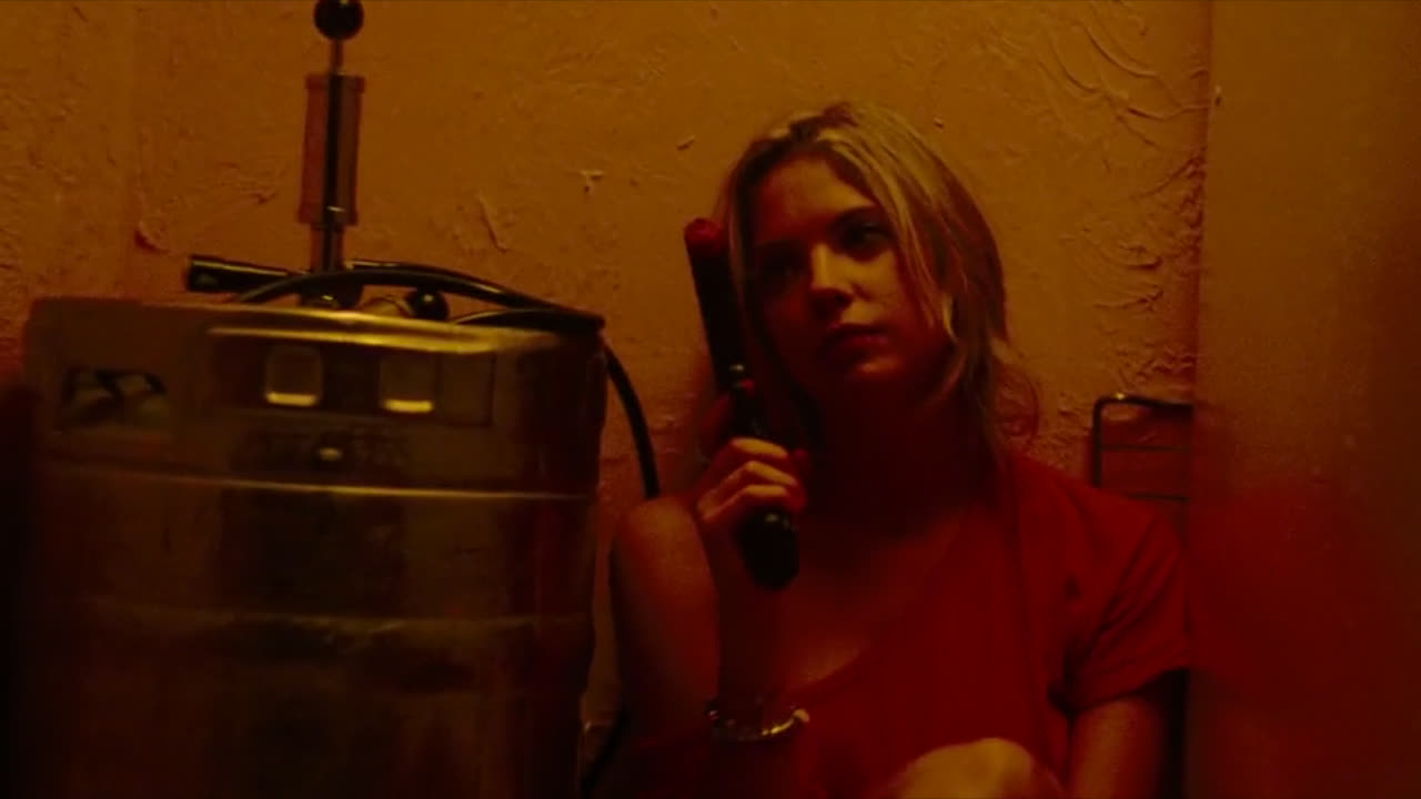 Ashley Benson watergun1 GIFs