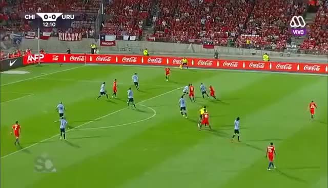 Watch and share Chile Vs. Uruguay (1080p) - Qualifiers FIFA World Cup Russia 2018 GIFs on Gfycat