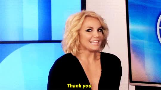 Watch and share Britney Spears GIFs and Ellen GIFs by Reactions on Gfycat