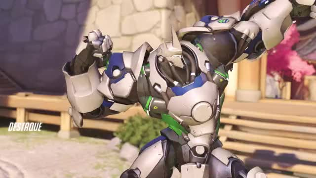Watch Reinhardt GIF on Gfycat. Discover more Overwatch, Reinhardt, Symmetra GIFs on Gfycat