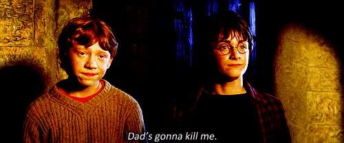 Watch and share Daniel Radcliffe Harry Potter Ron Weasley Favim Com GIFs on Gfycat