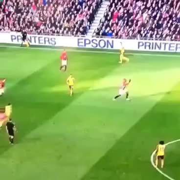 Watch Ozil -> Carrick nutmeg GIF on Gfycat. Discover more related GIFs on Gfycat