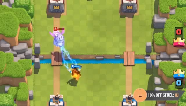 Watch and share Clash Royale | Good Electro Wizard Decks For Challenge GIFs on Gfycat