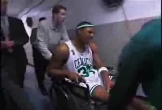 Watch and share Paul Pierce Fake Injury GIFs on Gfycat