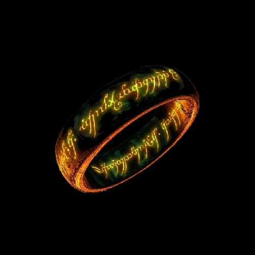Lord of the Rings images The One Ring Gif wallpaper and background photos