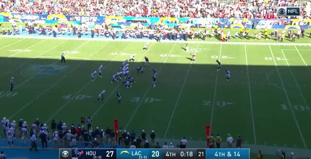 Watch and share Los Angeles Chargers GIFs and Houston Texans GIFs by Matt Weston on Gfycat