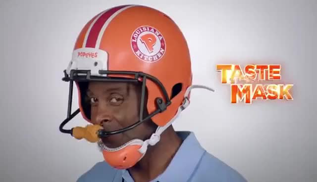 Watch and share Popeyes Wingovations With Jerry Rice GIFs on Gfycat