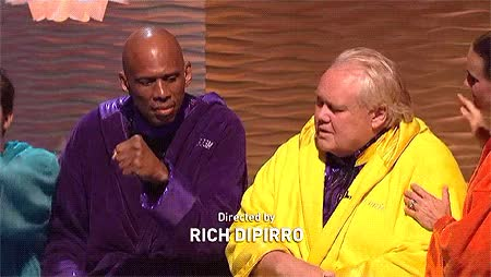 Watch and share Louie Anderson Fist Bump GIFs by Reactions on Gfycat