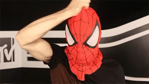 Watch and share Spiderman Hi GIFs on Gfycat