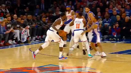Watch and share Julius Randle — New York Knicks GIFs by Off-Hand on Gfycat