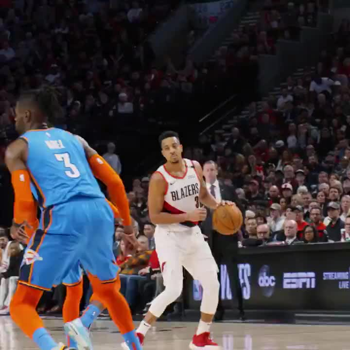 CJ splits defense GIFs