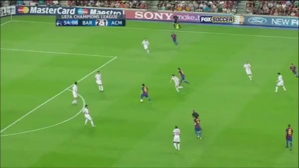 Watch and share Inch Perfect Tackle By Alessandro Nesta On Lionel Messi (reddit) GIFs on Gfycat