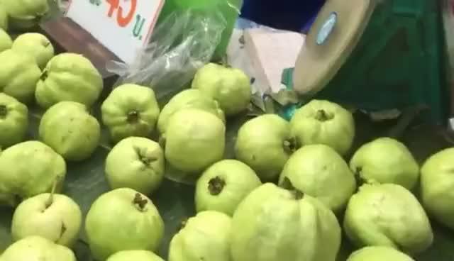Watch and share Street Fruits - Sweet Guava - $1.27/kilo - Bangkok Thailand Street Food GIFs on Gfycat