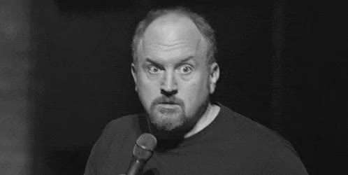 Watch this louis ck GIF by Miss GIF (@mizznaii) on Gfycat. Discover more expression, louis c.k, louis ck, omg, reaction GIFs on Gfycat
