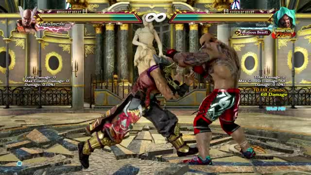 Watch and share Tekken GIFs by Woozle on Gfycat