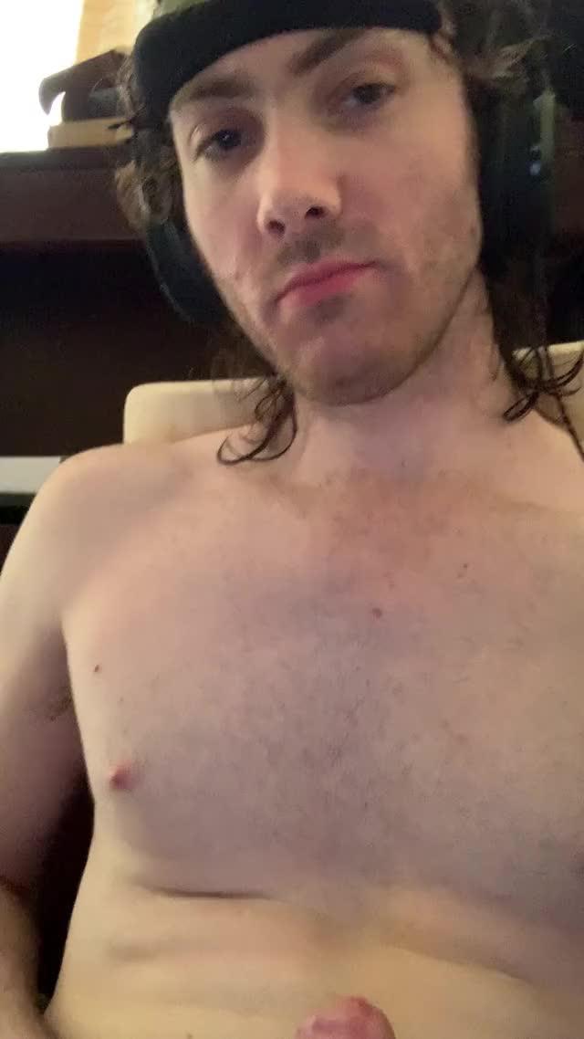 woke up with a chubby problem
