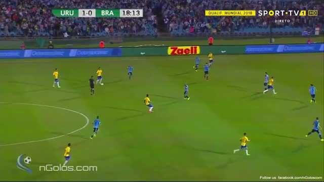 Watch and share Uruguay 1-1 Brazil - Paulinho 19' GIFs on Gfycat