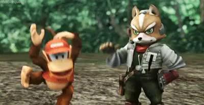 Watch this GIF on Gfycat. Discover more Metroid, captain falcon, earthbound, f-zero, fox mccloud, kid icarus, king dedede, kirby, link, luigi, mario, ness, pikachu, pit, pokemon, samus aran, ssbb, star fox, super smash bros b, the legend of zelda, yoshi GIFs on Gfycat