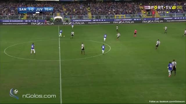 Watch and share (www.nGolos.com) Sampdoria 2-0 Juventus - Torreira 71' GIFs by minieri on Gfycat