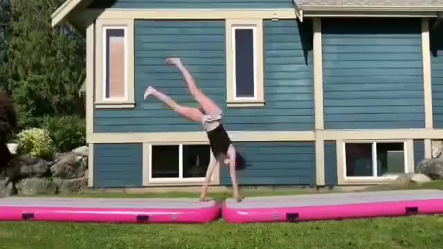 Watch and share Airtrack Tumbling GIFs on Gfycat