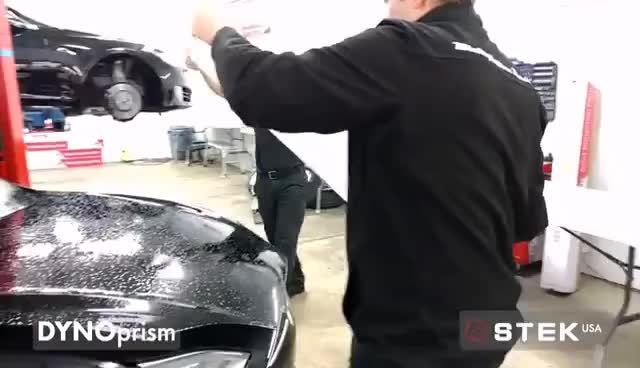 STEK DYNOprism (Tesla Model S Full Body Wrap) GIFs
