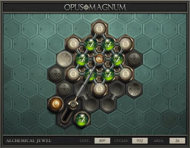 Watch and share Opus Magnum - Alchemical Jewel - 2017-10-27-22-05-18 GIFs on Gfycat