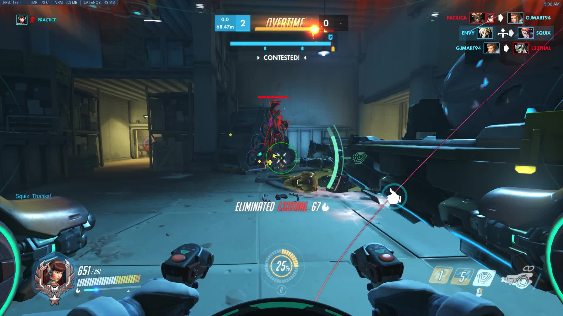 overwatch, aimbot looking GIFs