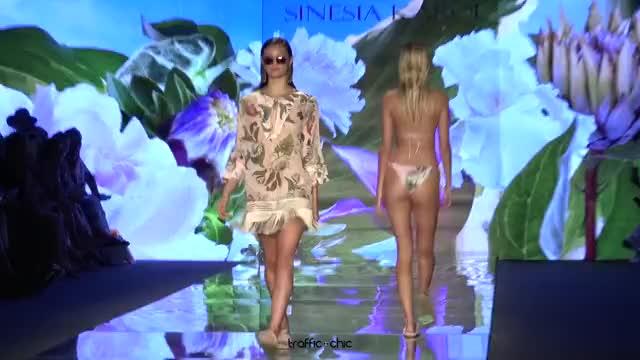 Watch SINESIA KAROL Resort 2019 Paraíso Fashion Fair-ou3b0lQR0Gk-Scene-014 GIF by @online3782 on Gfycat. Discover more related GIFs on Gfycat