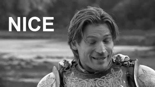 Watch and share Post Jaime Lannister NICE  GIFs on Gfycat