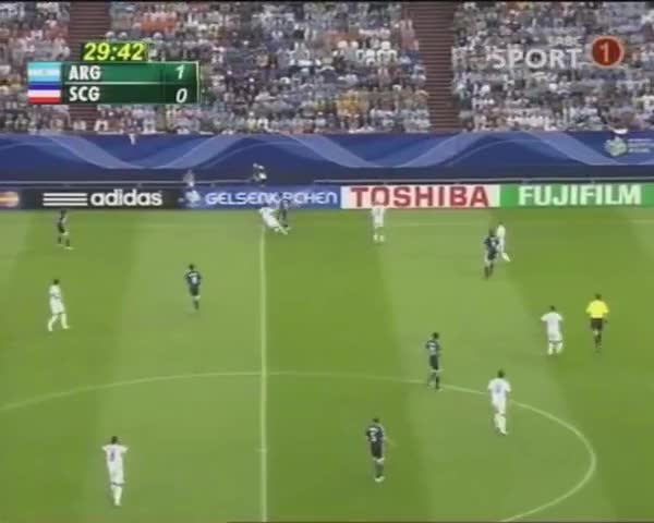 Watch Goal by Esteban Cambiasso. Argentina vs Serbia - Germany 2006 world cup GIF on Gfycat. Discover more 2006 FIFA World Cup (Event), Esteban Cambiasso (Football Player), FIFA World Cup (Football Competition) GIFs on Gfycat