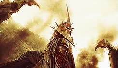 witch king of angmar lord of the rings gif