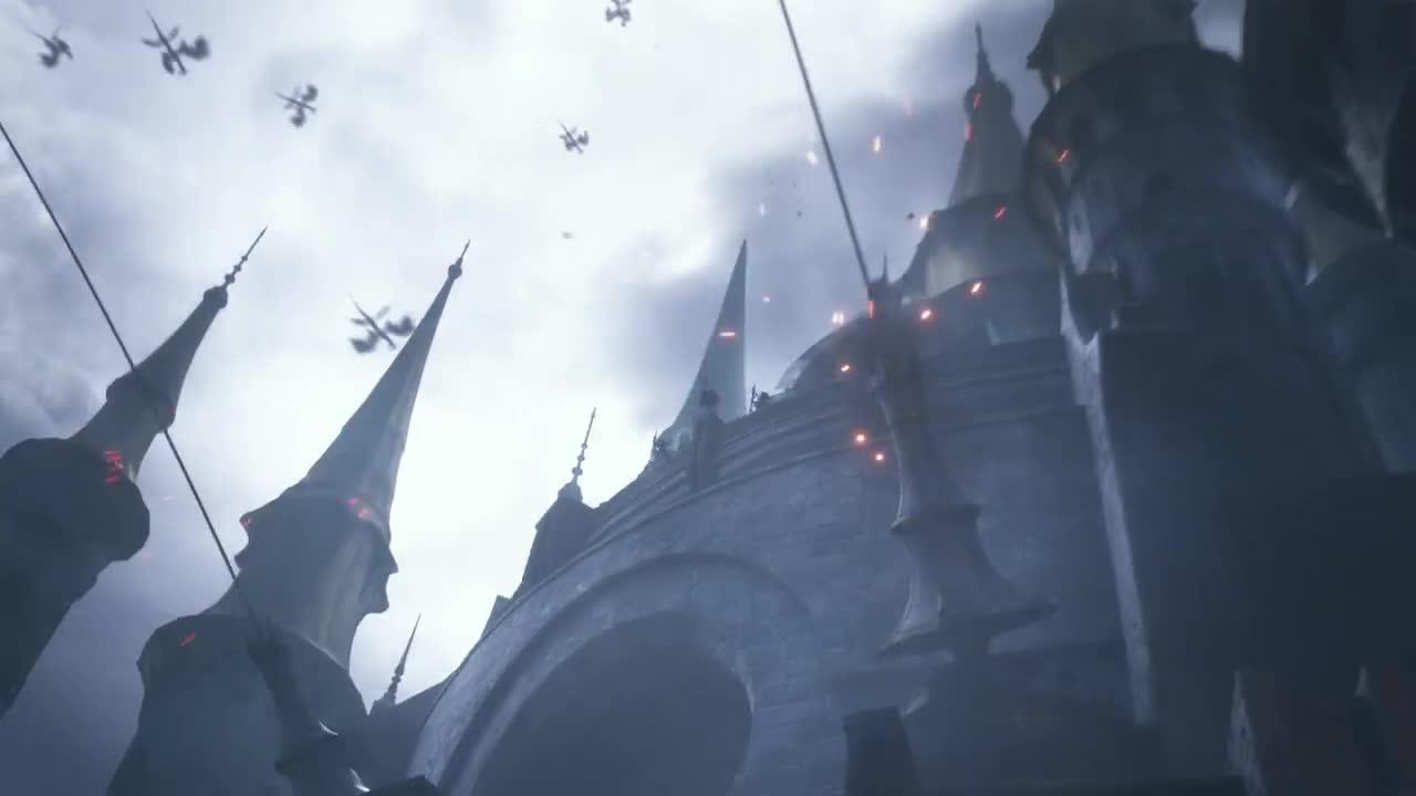 dragoon, ffxiv, FINAL FANTASY XIV Heavensward - Opening Movie PS4 PS3 GIFs