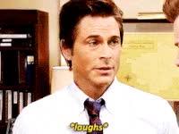 Watch and share Chris Traeger GIFs on Gfycat