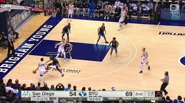 Watch Davin Cut GIF by @yzeguy on Gfycat. Discover more BYU, Basketball, Eric Mika GIFs on Gfycat