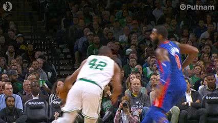Watch Al Horford — Boston Celtics GIF by off-hand on Gfycat. Discover more 103018 GIFs on Gfycat