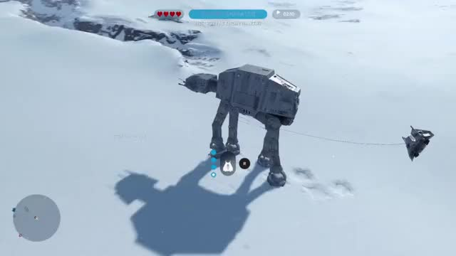 Watch AT-AT take down GIF by @dkastro89 on Gfycat. Discover more Hoth GIFs on Gfycat
