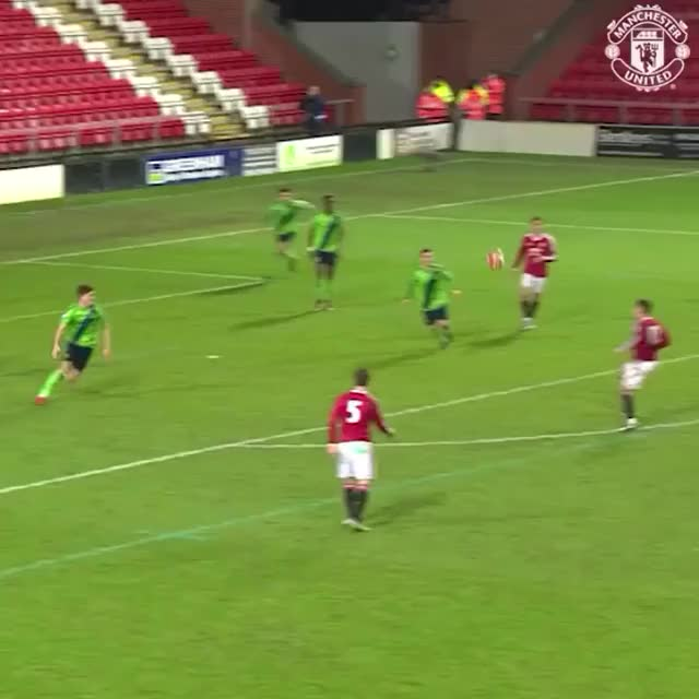 Watch Amazing skills from Andreas Pereira for #mufc U21s! GIF on Gfycat. Discover more reddevils GIFs on Gfycat