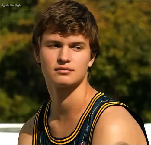Watch this GIF on Gfycat. Discover more ansel elgort, augustus waters, flirt, myfault, mygifs, smile, the fault in our stars GIFs on Gfycat