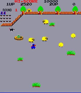 Watch and share Arcade Game: Lasso (1982 SNK) GIFs on Gfycat