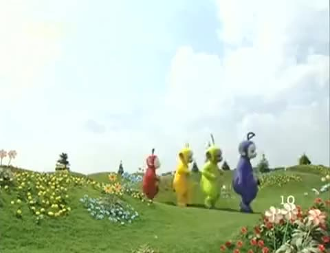 Watch and share Teletubbies GIFs and Tinky Winky GIFs on Gfycat