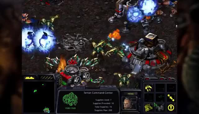 Watch and share StarCraft Remastered Announcement GIFs on Gfycat