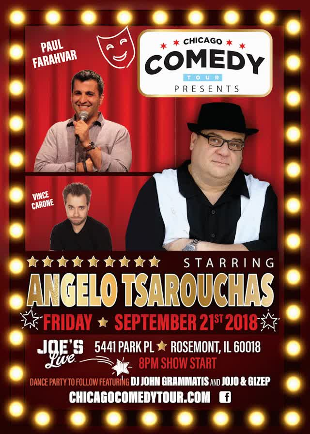 Watch and share Chicago Comedy Tour GIFs and Angelo Tsarouchas GIFs by Joe JoJo Meglio on Gfycat