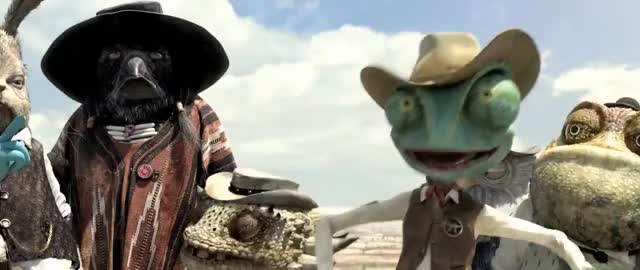 Watch this let's leave GIF on Gfycat. Discover more Dog, Horses, Rango, animal, animals, animated, animation, cartoon, cat, clip, horse, lizard, western GIFs on Gfycat