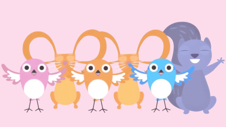 amazing, animals, animation, aw, aww, awww, bff, birds, cartoon, cute, excited, glad, grateful, great, happy, rabbit, so, squirrel, sweet, that's, Awww animation GIFs