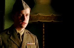 Watch and share Eugene Sledge GIFs and Joe Mazzello GIFs on Gfycat