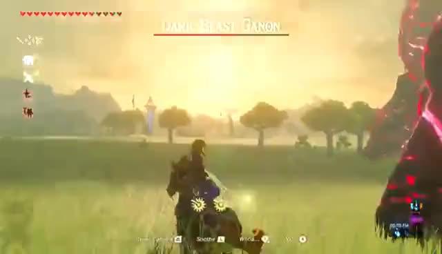 Final Battle Calamity Ganon The Legend Of Zelda Breath